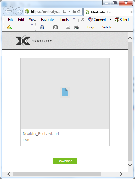 Step 1: Download and Install Nextivity Redhawk for RS2 – Cel-Fi Support